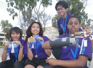 MESA Prosthetic Arm Team takes First Place